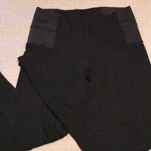 Zara basic black leggings - Small